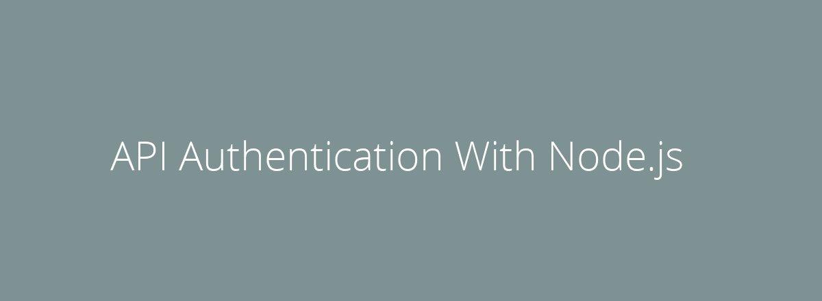 4elements | web design Den Haag blog • API Authentication With Node.js