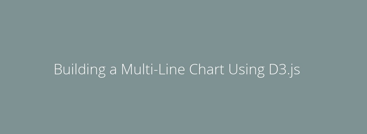 4elements | web design The Hague blog • Building a Multi-Line Chart Using D3.js