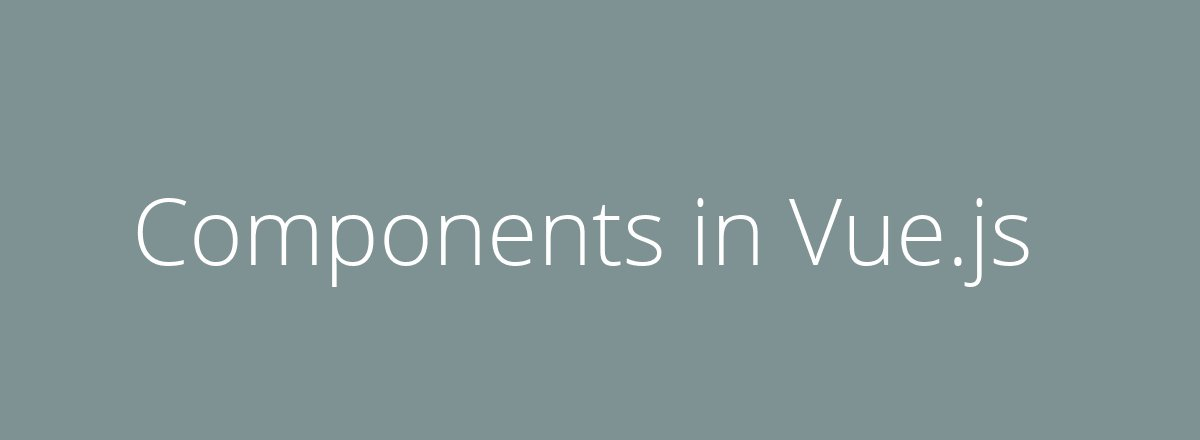 4elements | web design The Hague blog • Components in Vue.js