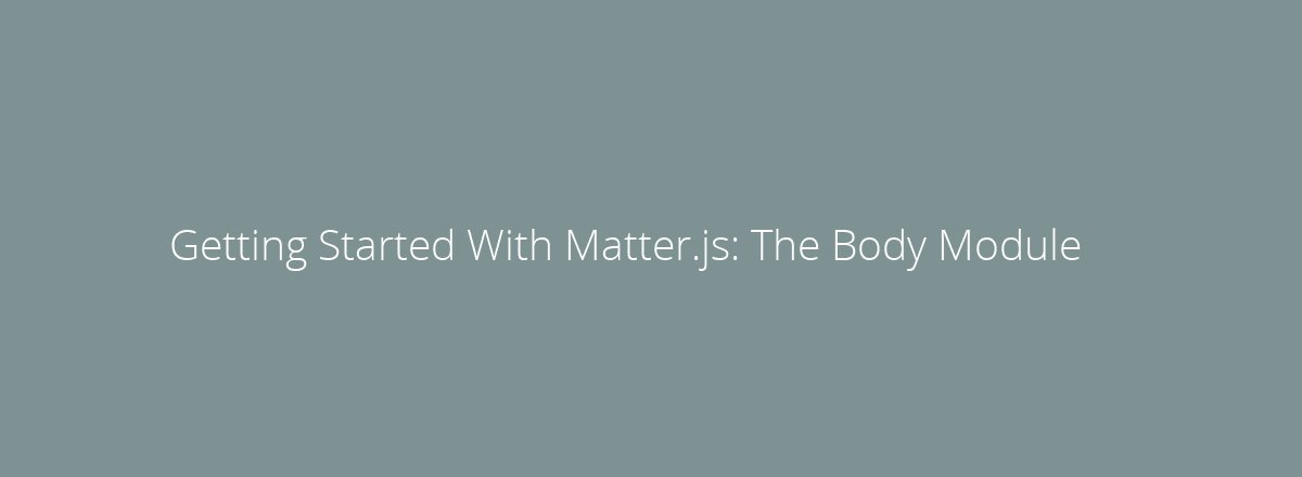 4elements | web design The Hague blog • Getting Started With Matter.js: The Composites and Composite Modules