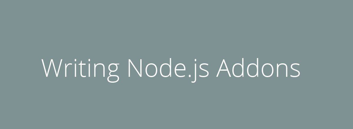 4elements | web design The Hague blog • Writing Node.js Addons